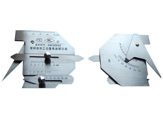 China Automatic Size Fillet Weld Gauge Reasonable Structure Wide Measurement Range supplier
