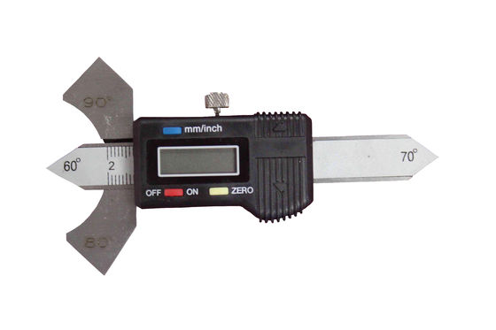China LCD Display Digital Welding Gauge Fillet Weld Gage For MIG / TIG / Stick Welding Tools supplier